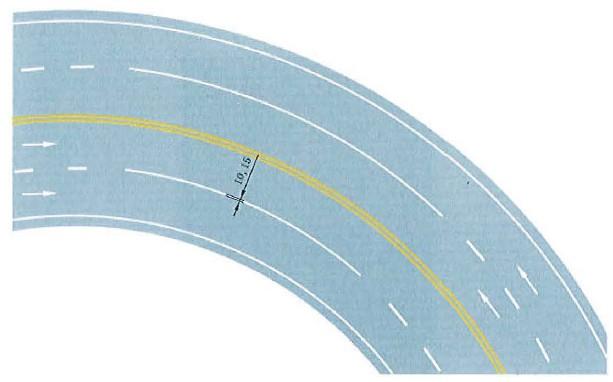 禁止跨越同向车行道分界线