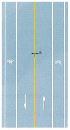 黄色单实线禁止跨越对向车行道分界线