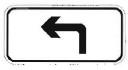 行驶方向标志
