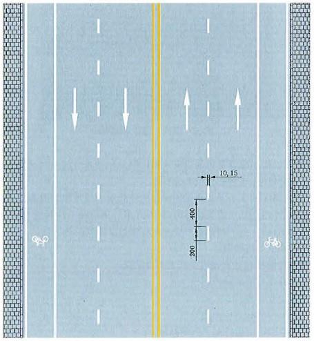 可跨越同向车行道分界线
