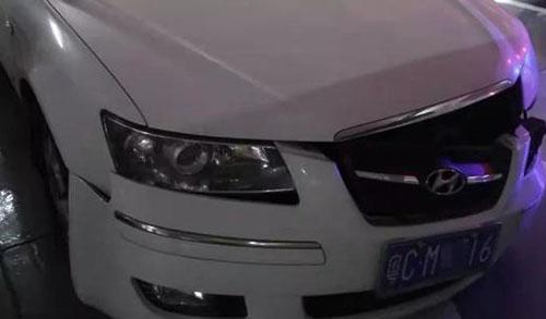 发生口罩事故的车辆