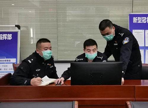 杭州交管部门监控车流