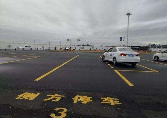 杭州翔力驾校教你侧方停车看点位打方向盘