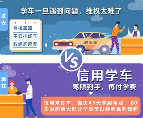 杭州学车选择信用学车