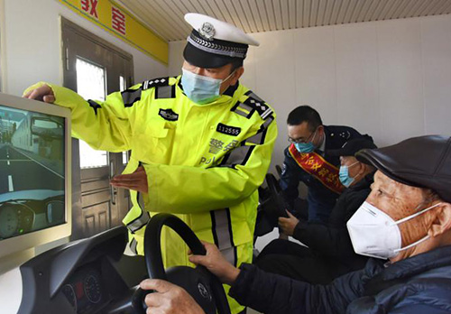 杭州进行模拟开车培训
