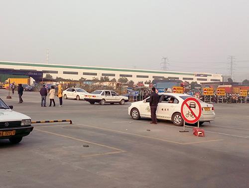 杭州的驾校训练场